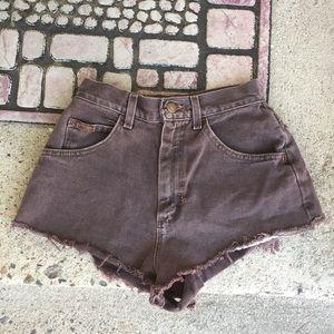 LEE Vintage high-waisted shorts